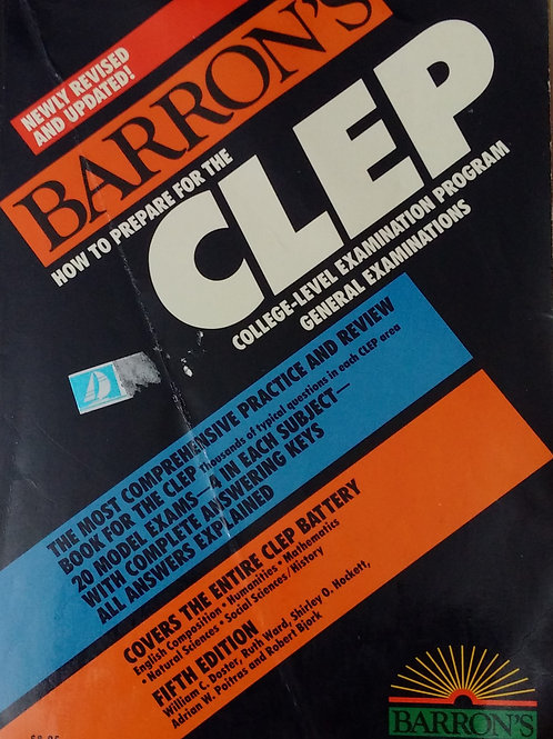 CLEP. College Level Examination Program General Examinations Fifth Edition by B