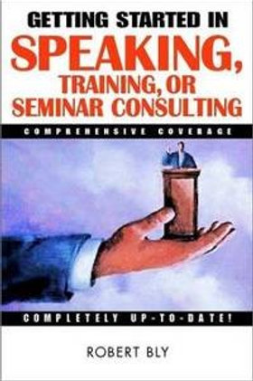 Speaking Training or Seminar Consulting by Robert Bly