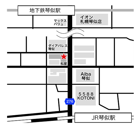 札幌市西区琴似1条2丁目6-8らいおnライオンズマンション203