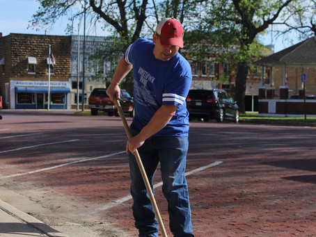 A Successful Town Square Clean Up
