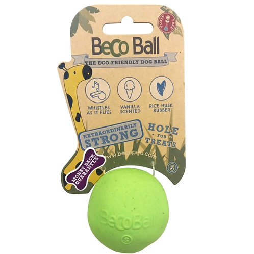 Beco Green reward ball for dogs