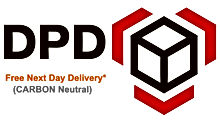 DPD-Logo with free delivery used by Dogfoods4u