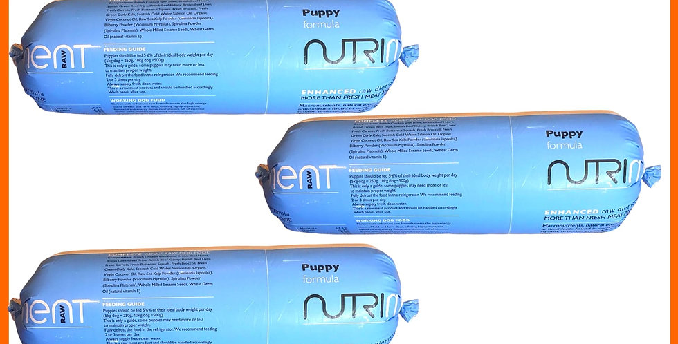 Nutriment Puppy formula for dogs 5 Chubbs