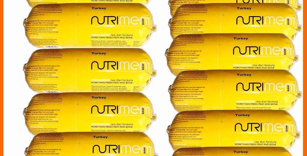 NUTRIMENT Turkey Formula Raw Dog Food 15 x 1.4kg