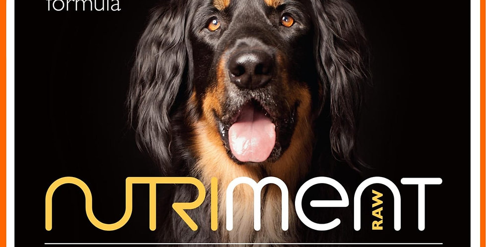 Nutriment Raw dog food Turkey 500g in retail packaging