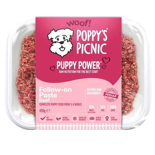 Poppys Picnic Puppy Power - Follow on paste beef