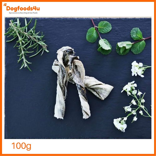 Nutriment Fish Twists for dogs displayed by dogfoods4u as treat