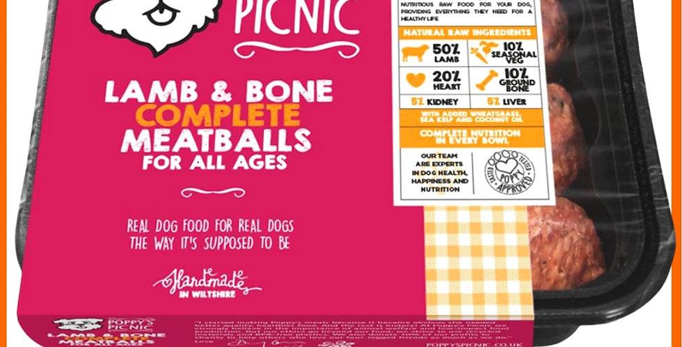 Poppy's Picnic - Lamb Meatballs Complete