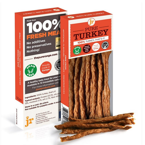 JR Pure turkey sticks for dogs