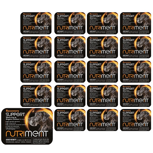 Nutriment Recovery Support 20 500g tubs raw dog food