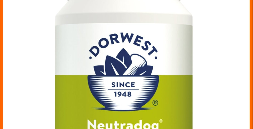 Dorwest Neutradog 100 tablets for dogs with flatulence