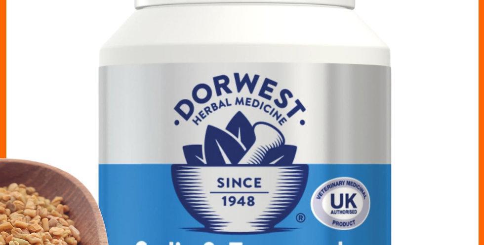 Dorwest Garlic with Fenugreek 100 tablets for raw fed dogs