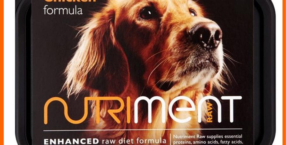 Nutriment Chicken core formula 500g tub raw dog food