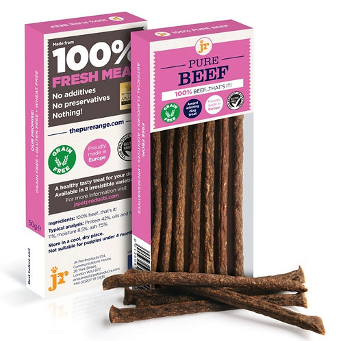 JR Pure Beef Sticks for dogs - 50g