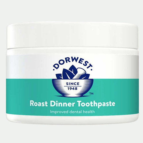 Dorwest roast dinner toothpaste for dogs