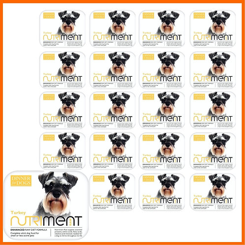 Nutriment Raw Dinner for dogs turkey formula for small dogs
