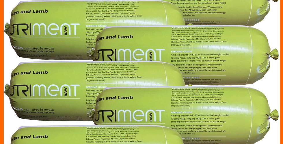 Nutriment Chicken and Lamb 11.2kg formula selection