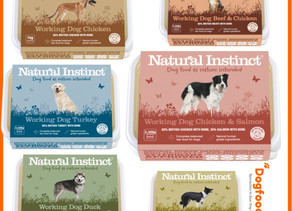 Natural Instinct Raw launch new packaging design for 2020