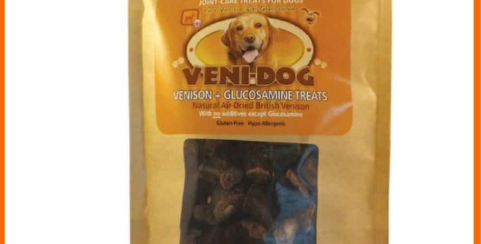 Veni-dog Glucosamine treats for joint care in retail packaging