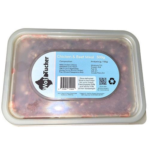 Wolf Tucker -Raw Chicken & Beef Meal
