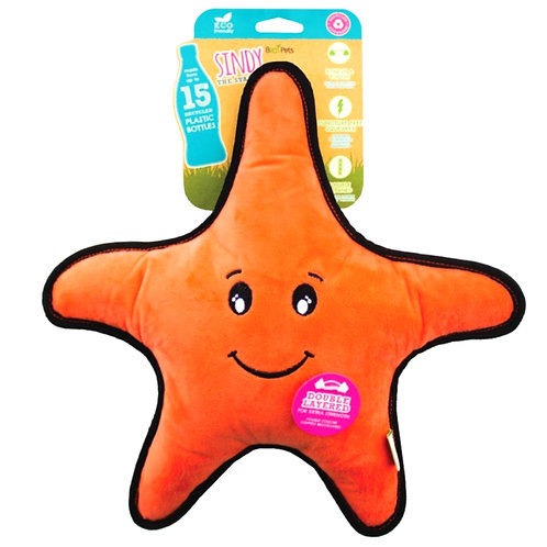 Beco pets Starfish recycled dog toy