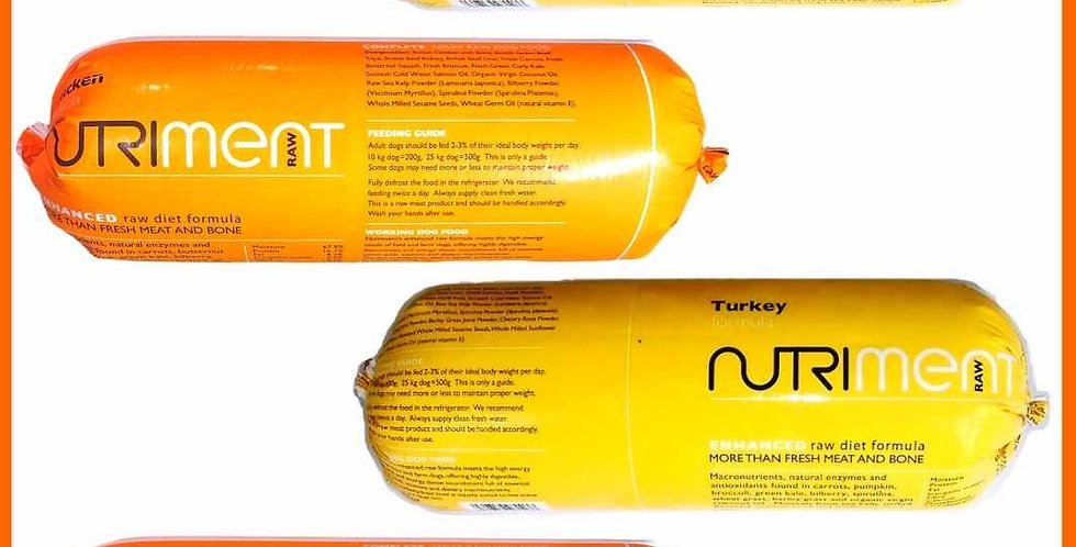 Nutriment Chubb Pack Turkey and Chicken Small Pack