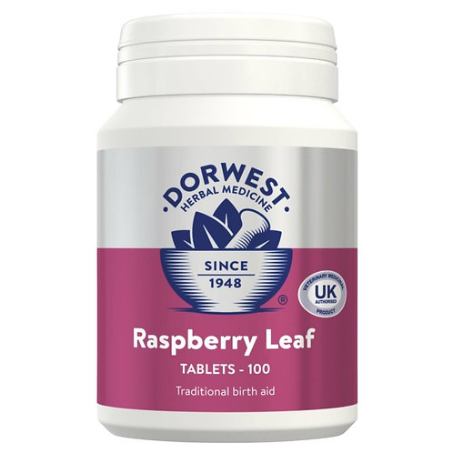 Dorwest raspberry tablets 100 for dogs