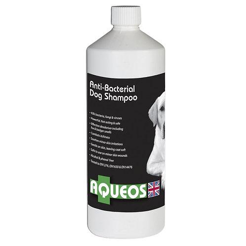 Aqueos 1ltr dog Shampoo Anti-Bacterial