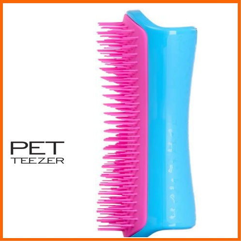 De-shedding & Dog Grooming Brush-Blue and Pink