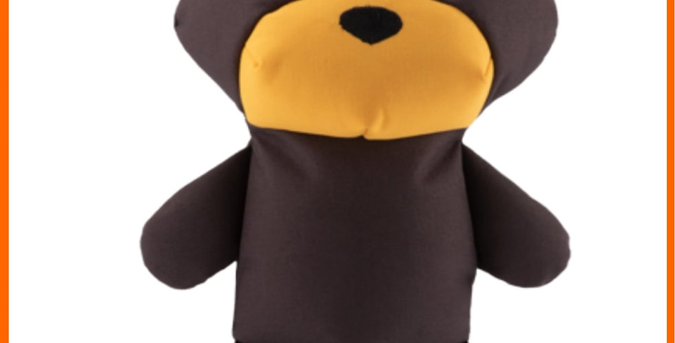 Beco recycled brown bear dog pet toy