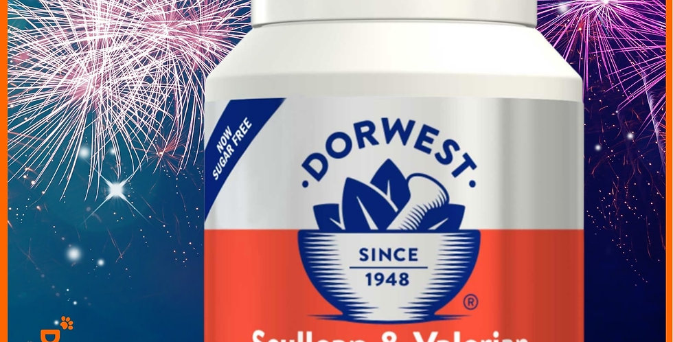 Dorwest - Scullcap & Valerian Tablets For Dogs