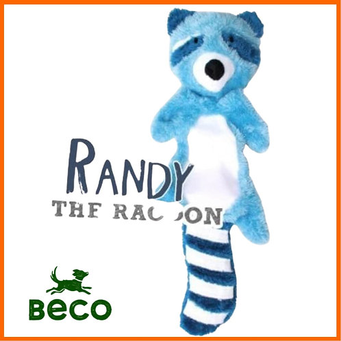 Beco randy the racoon dog toy stuffing free