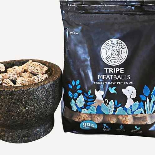 Nutriment Tripe meatballs for pet dogs