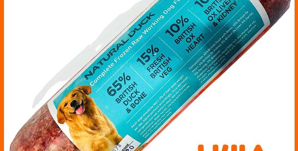 U4IA Raw dog food formula Natural Duck 1kg