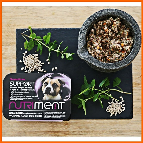 Nutriment raw Sensitive Support formula 500g tray