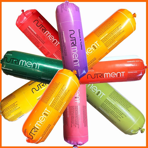 Nutriment Raw Rainbow 9 Chubb Pack dog food complete