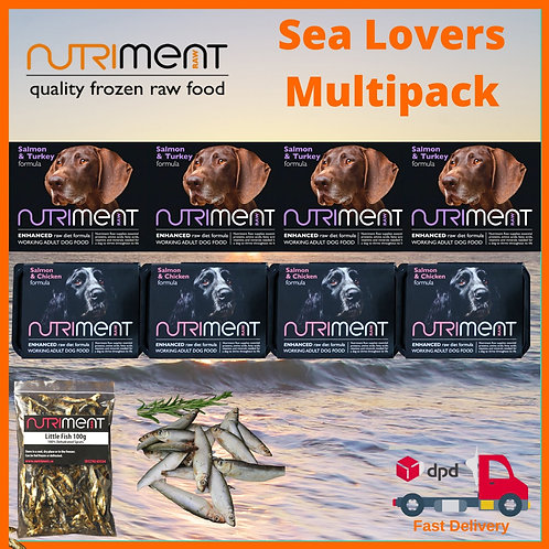 Nutriment Raw Dog Food Sea Lovers multipack BARF complete