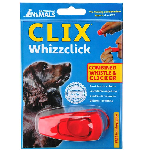Dog Clicker Whizzclick - 2 in 1  dog whistle