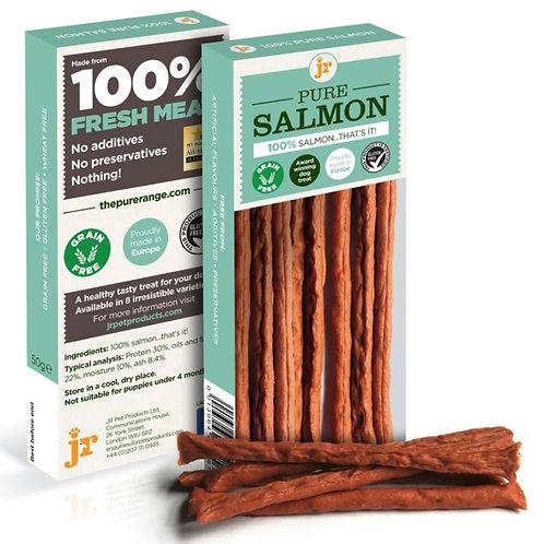 JR Pure Salmon Sticks 50g