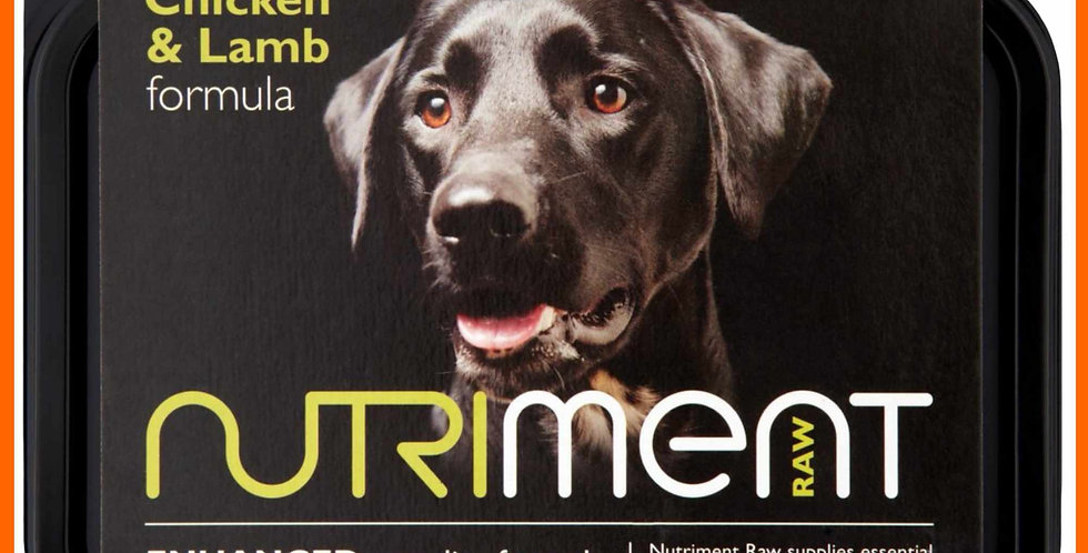 Nutriment Chicken and Lamb Formula 500g pack for dogs