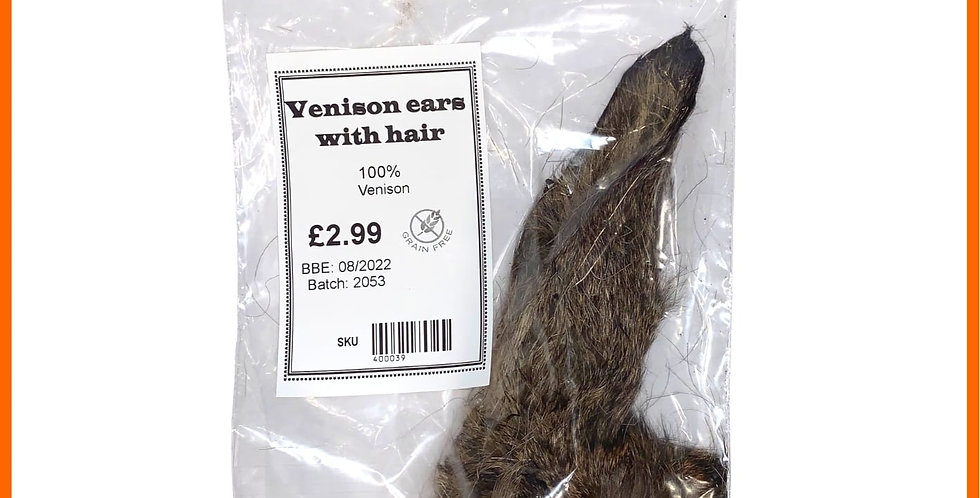 Dog treat Primal natural Venison ear dehydrated for pets U4IA