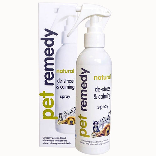 Pet Remedy spray for calming dogs naturally with stress or anxiety