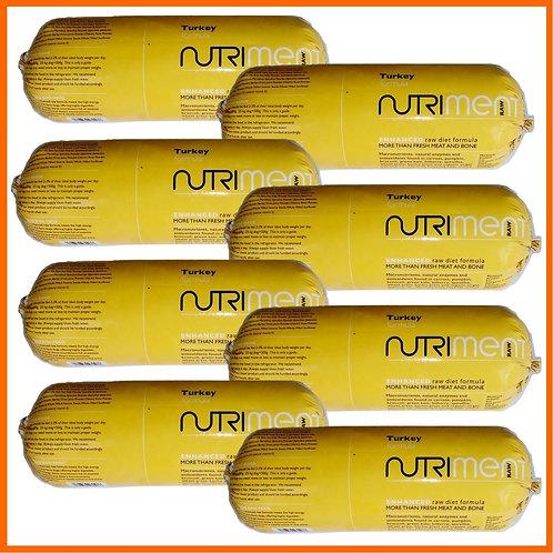 Nutriment Raw Turkey formula 8 x 1.4kg Chubbs