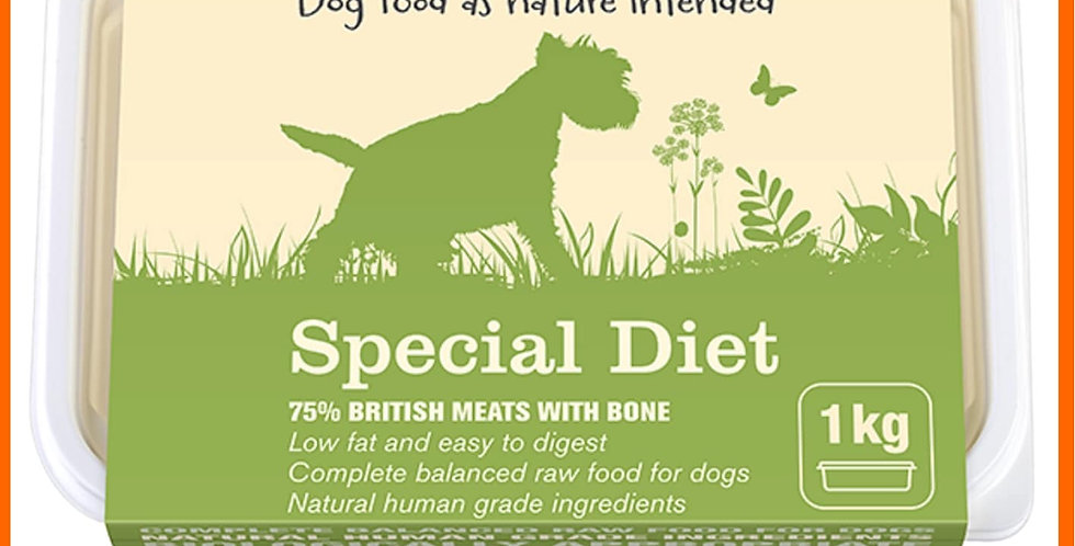 Natural Instinct raw BARF Special Diet of Chicken and beef for dogs