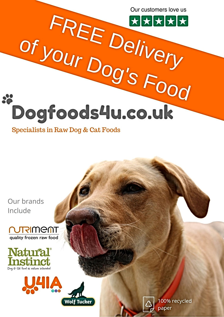 Free Delivery of Your Dog's Food