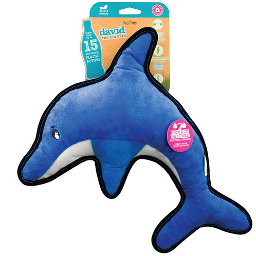 Beco pets dolphin dog toy eco sustainable pet toy