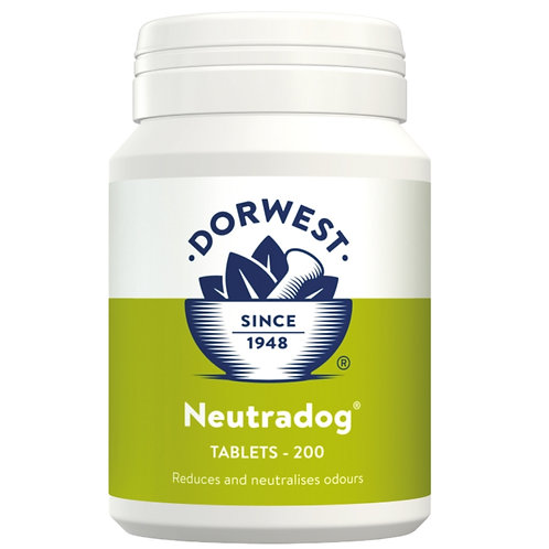Dorwest Neutradog 100 tablets for dogs with flatulence herbal remedy