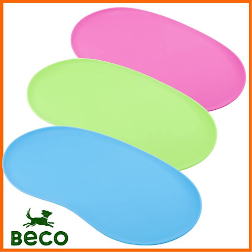 Beco raw dog food silicone feeding mat in all colours