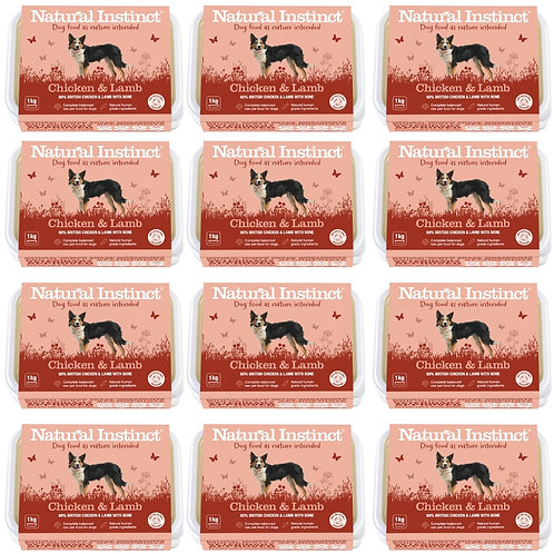 Natural Instinct 12kg Chicken and Lamb for Dogs