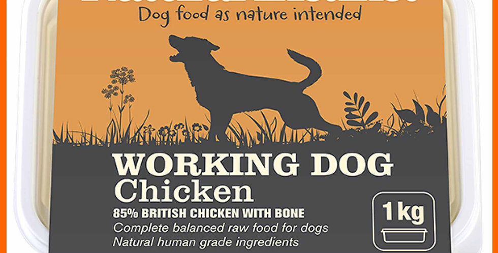 Natural Instinct 1kg chicken raw formula food for dogs
